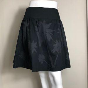 Norma Kamari palm tree flare skirt 4